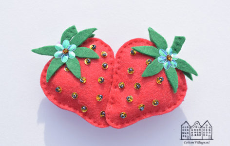 Fris en fruitige aardbeienspeld
